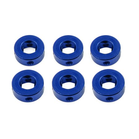 2pcs Blue Universal Aluminum Alloy Car Auto Door Window Handle Cranks Winders - image 4 of 5