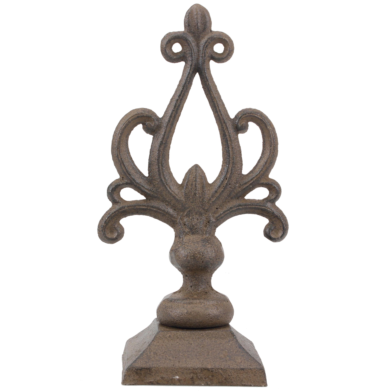 Stonebriar Collection medium rustic cast pedestal
