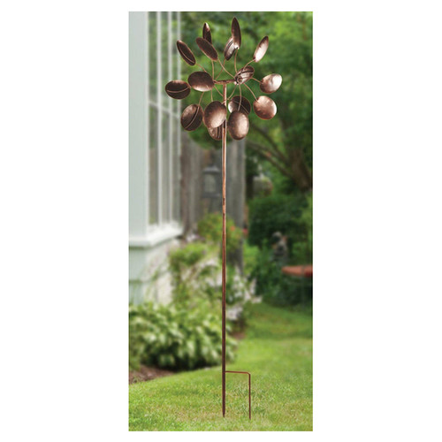 Zingz & Thingz Flower Petal Windmill Garden Stake by Zingz & Thingz