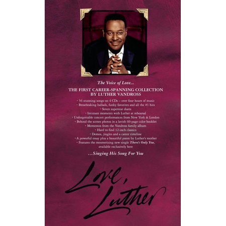 Love Luther (CD) (Luther Vandross The Best Of Love)