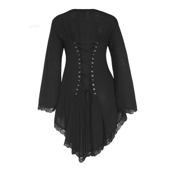 31b460454b Dare Fashion - Dare To Wear Victorian Gothic Boho Women s Plus Size Embrace  Corset Sweater S - 5x - Walmart.com