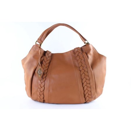 a883c46497b7 Rachel Zoe - Brown Leather Extra Large 11mr0124 Hobo Bag - Walmart.com