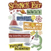Cardstock Stickers-Science