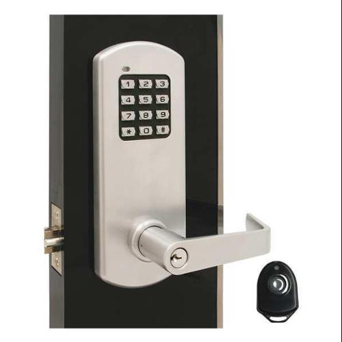 TOWNSTEEL XCE-9010-IC-Q-626 Classroom Lock, Stin Chrome, Quest Lever