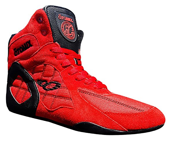 Otomix Red Ninja Warrior Stingray Bodybuilding Combat Shoe (Size 12)