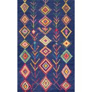 nuLOOM Belini Hand-Tufted Blue Area Rug