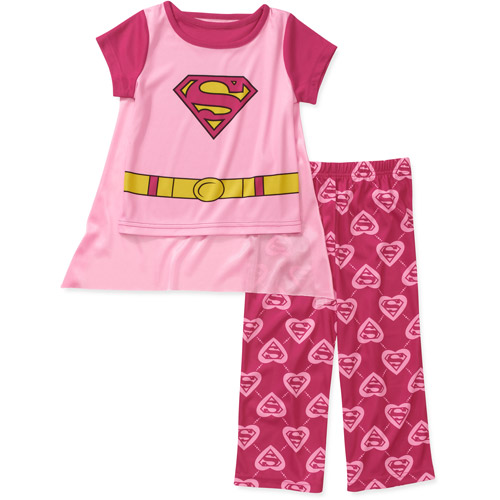 Dc Comics Baby Girls'  Supergirl 3 Piece