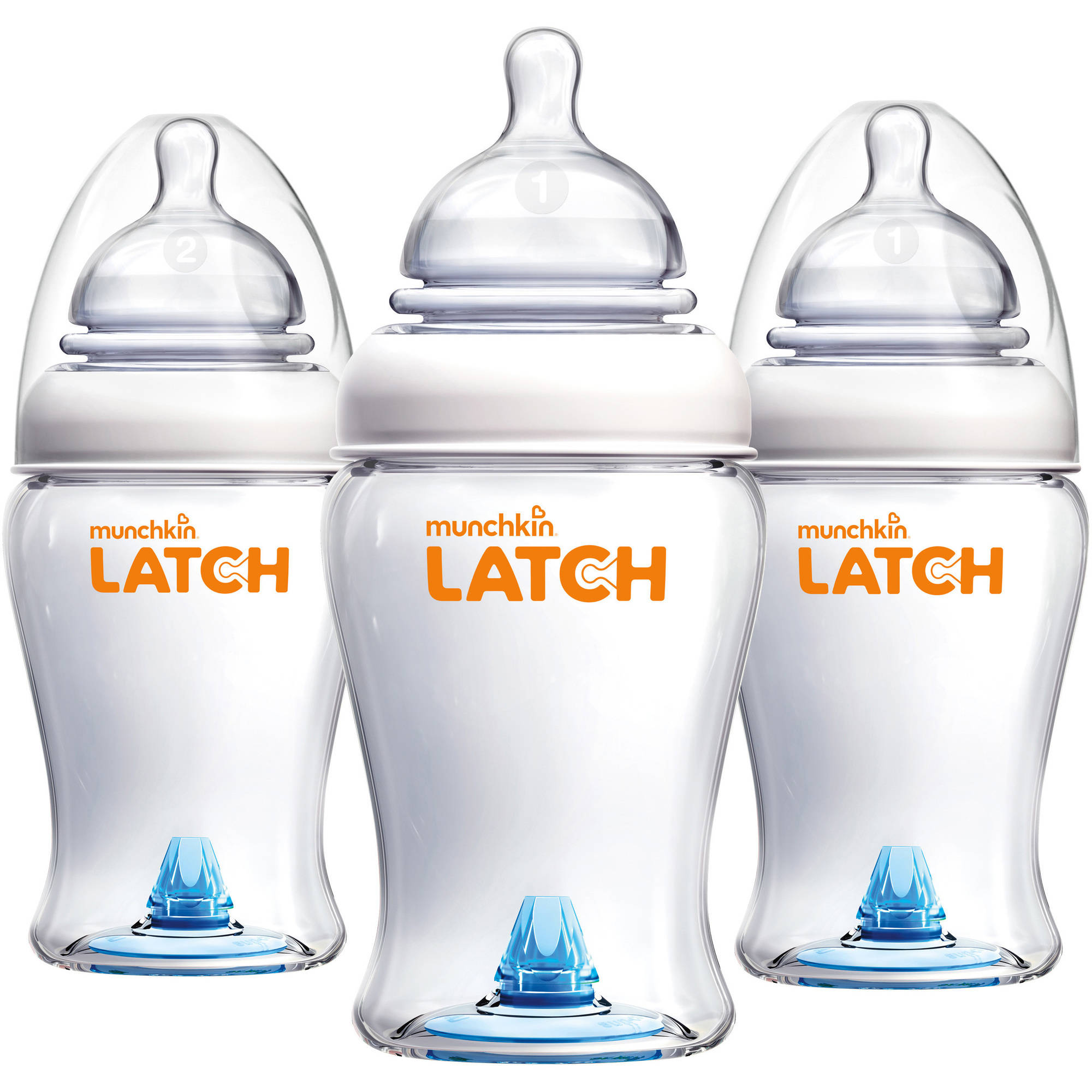 Munchkin Latch 8 oz Bottle BPA Free, 3 ct