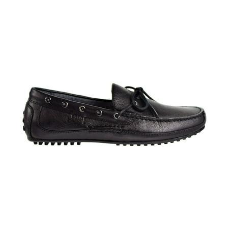 Lauren Loafers - Polo Ralph Lauren Wyndings Slip-On-Driving Men's Loafers Black 803665424-001