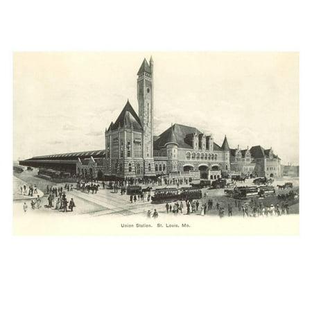 Union Station, St. Louis, Missouri Print Wall -