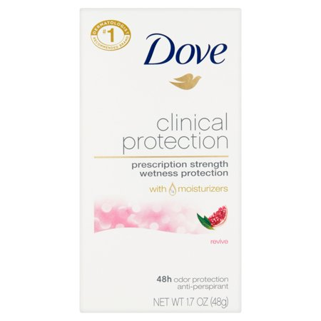 Dove Clinical Protection Revive 48H Odor Protection Anti Perspirant Deodorant  1 7 Oz