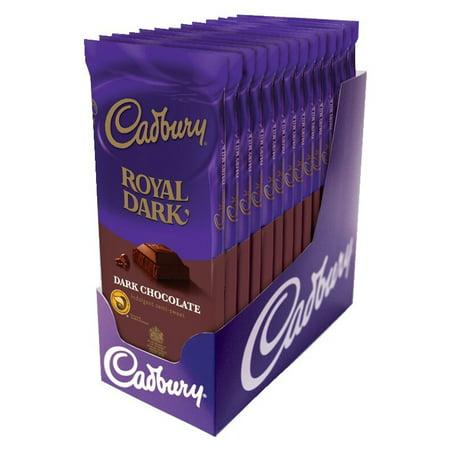 Cadbury Halloween Cake Bars (Cadbury, Royal Dark Chocolate Bar, 3.5 Oz, 14)