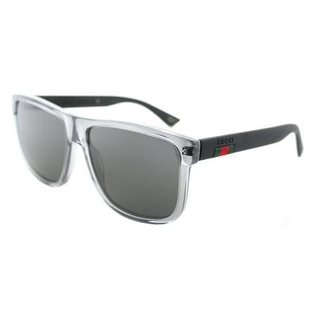 Gucci GG0010S 004 Unisex Rectangle (Gucci Unisex Sunglasses)