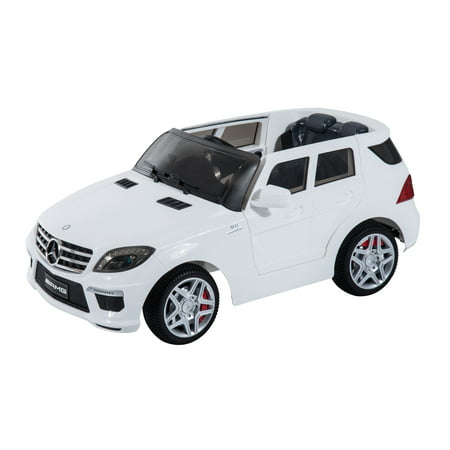 Mercedes benz ml63 12v kids electric ride on car with mp3 for Ride on mercedes benz toy car
