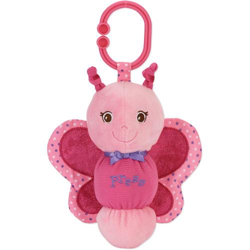 Garanimals Stuffed Butterfly Press Light up Toy