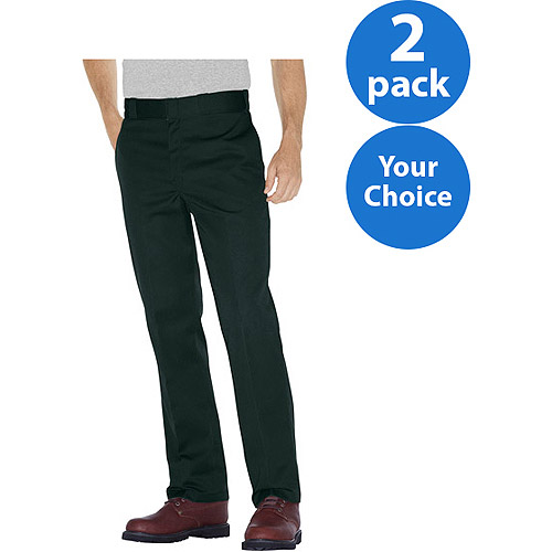 Dickies Men's 874 Traditional Work Pants, 2 Pack
