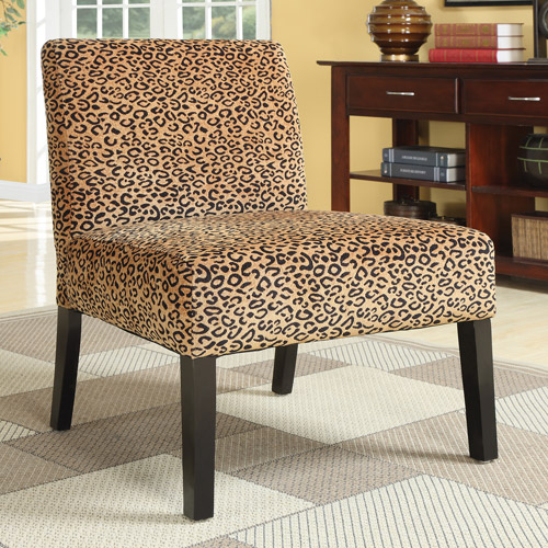 Coaster Leopard Accent Chair