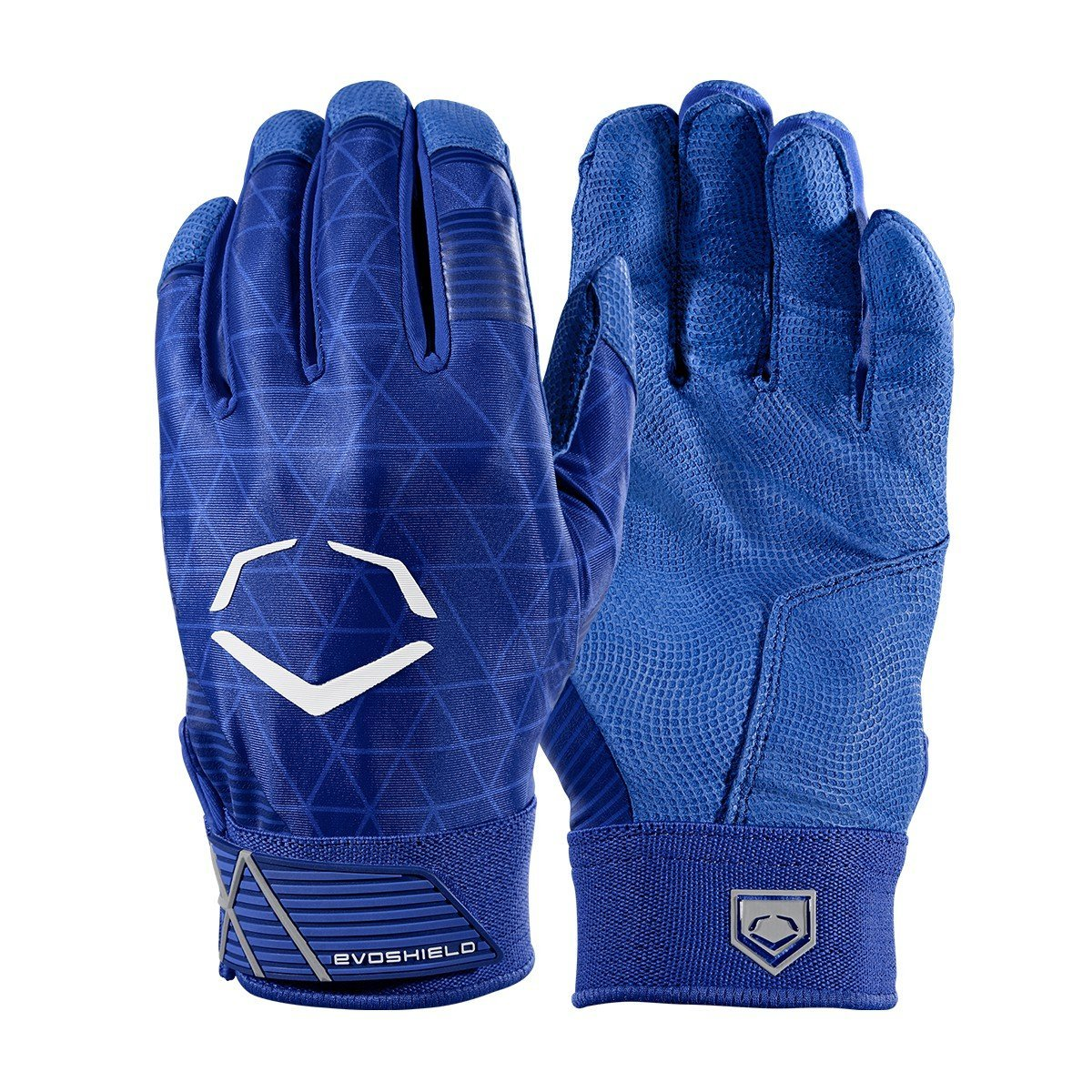 EvoShield Evocharge Batting Glove with Molding Shield Royal Large