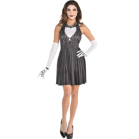 Before Halloween Party (The Nightmare Before Christmas Jack Skellington Halloween Costume Accessory Kit for Women, One Size, by Party)