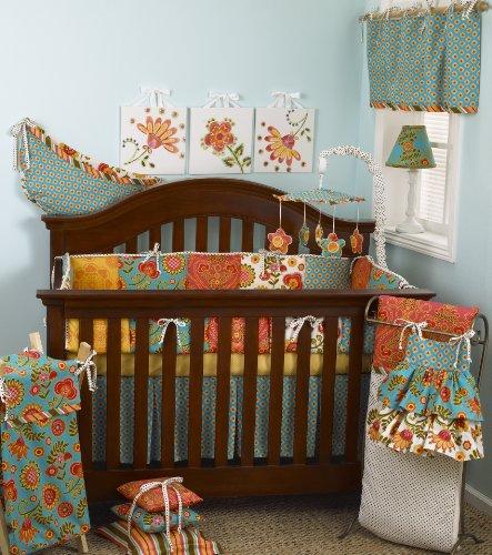 Cotton Tale Designs 8 Piece Crib Bedding Set, Gypsy