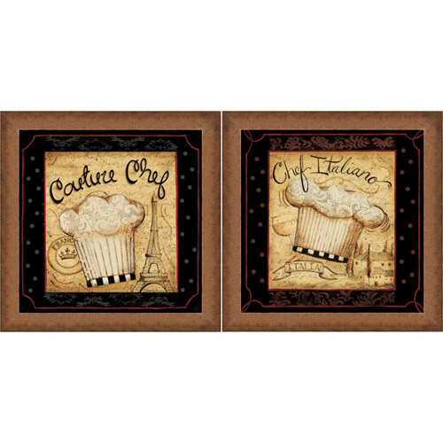 """Framed Graphic """"chef Couture"""" Wall Art, Gold Frame, Set Of. Small Kitchen Design. Bob Timberlake Kitchen Island. Black Kitchen Cabinet Ideas. Roll Around Kitchen Island. G Shaped Kitchen With Island. Kitchen Counter Island. White Kitchen Splashbacks. White Kitchen Island Butcher Block Top"""