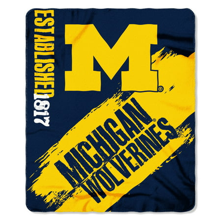 Michigan Wolverines Painted Fleece - Michigan Wolverines Cover
