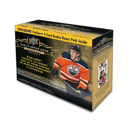 2018-19 UPPER DECK NHL SERIES 1 HOCKEY TRADING CARDS MEGA BOX
