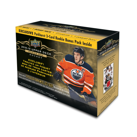 2018-19 UPPER DECK NHL SERIES 1 HOCKEY TRADING CARDS MEGA - Series 1 Hockey Hobby Box