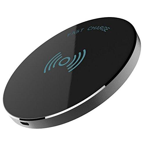 Refurbished RND Power Solutions RND-PAD-WL-B Fast Charge Wireless Charging Pad for Apple iPhone 8 8 Plus X 10, Black