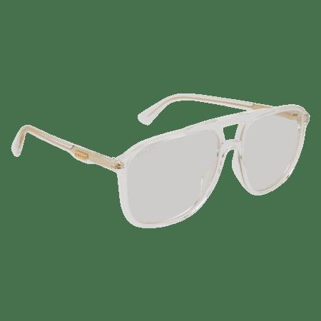 d1d4933a08f Gucci - Sunglasses Gucci GG 0262 S- 006 CRYSTAL   TRANSPARENT - Walmart.com