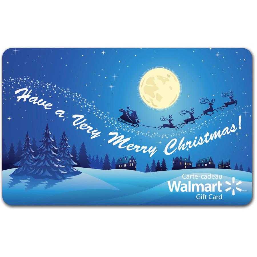 Snowflake 25 Walmart Egift Card Walmart