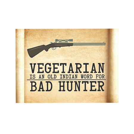 I am a Hunter and I Married a Vegetarian