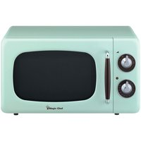 Product Image Magic Chef Mcd770cm 7 Cubic Ft 700 Watt Retro Microwave Mint Green