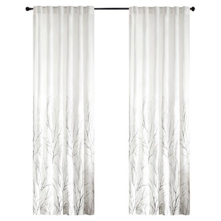 August Grove Gladeview Nature/Floral Room Darkening Rod Pocket Single Curtain Panel