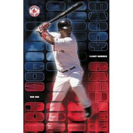 Manny Ramirez Poster Print - Manny Ramirez Dodgers Pictures