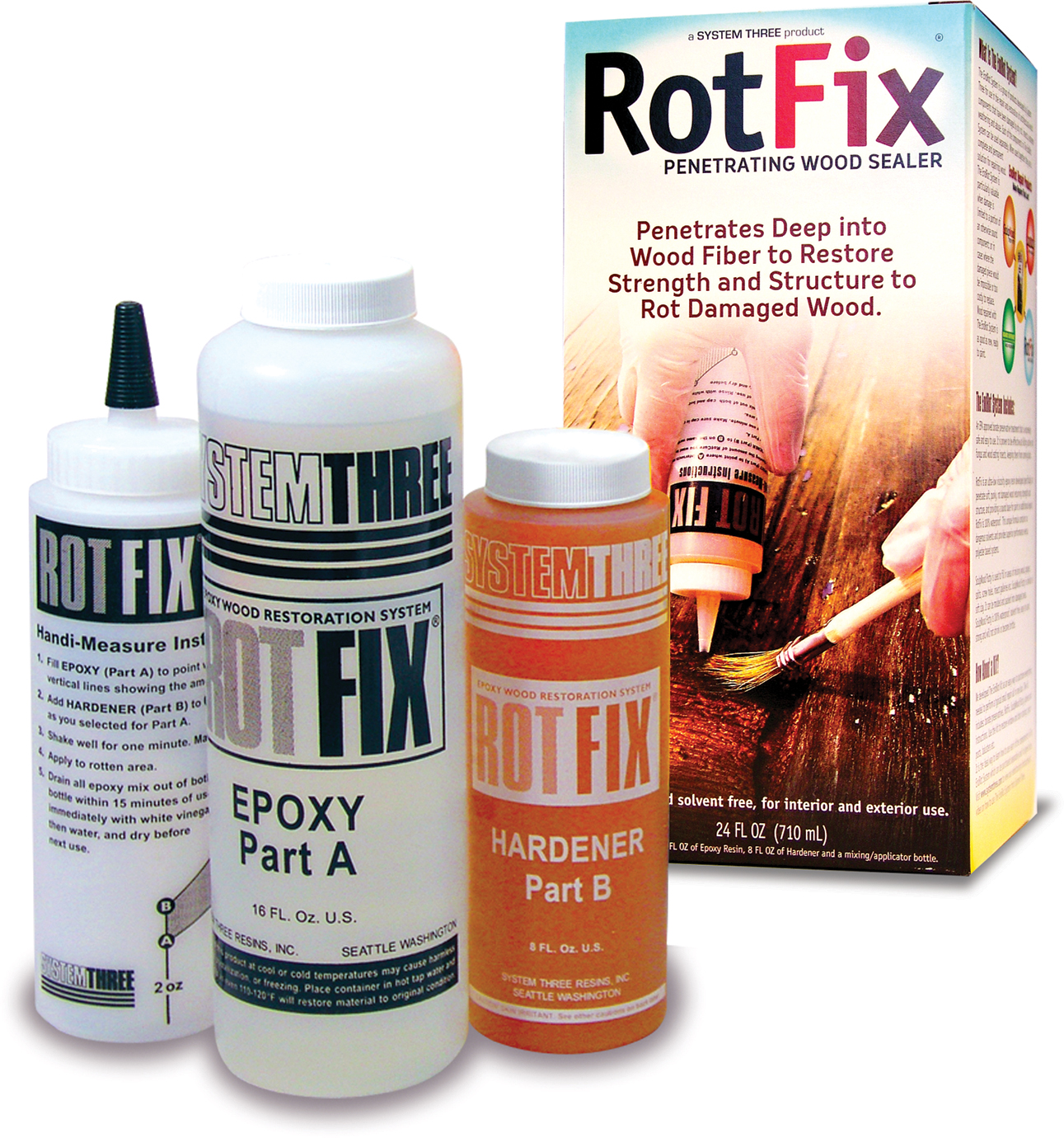 ROT FIX 1.5PT KIT