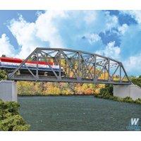 walthers cornerstone ho scale kit arched pratt truss railroad bridge doubletrack