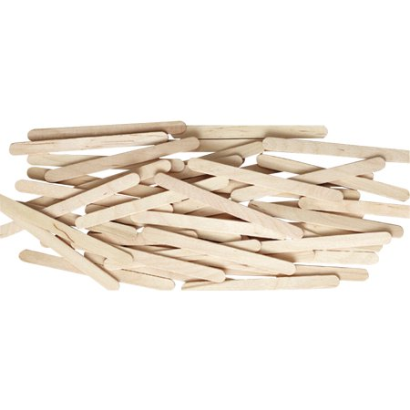 Chenile Kraft 085958 Wood Economy Non-Toxic Craft Stick, 4.5 x 0.37 x 0.5 In, Natural, Pack 1000