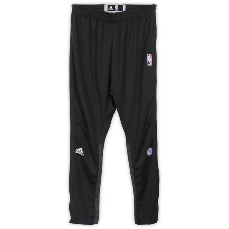 Gerald Henderson Philadelphia 76ers Player-Issued #12 Gray Button Down Pants vs. New York Knicks On April 12, 2017 - Size L +2 - Fanatics Authentic