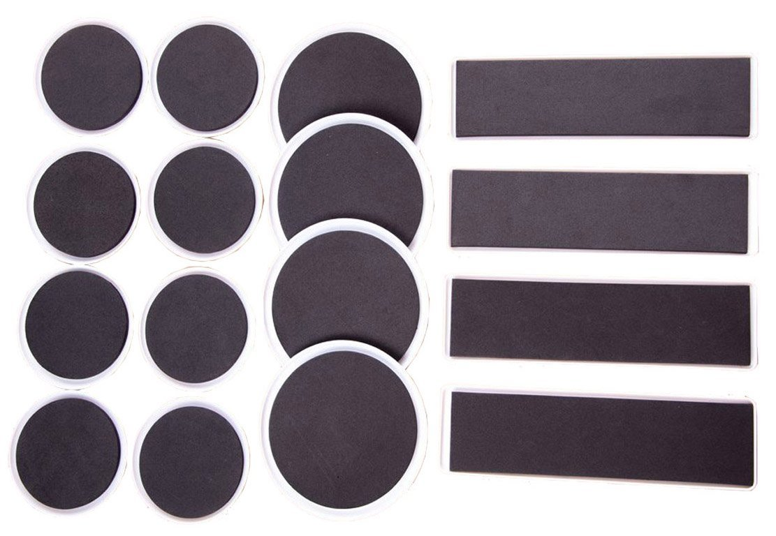 Mighty Sliders: 16 Piece Furniture U0026 Carpet Sliders