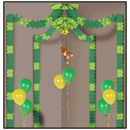 Jungle Monkey Party Canopy - Vbs Decoration