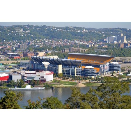 Laminated Poster Heinz Field Pittsburgh Football Steelers City Poster Print 24 x 36