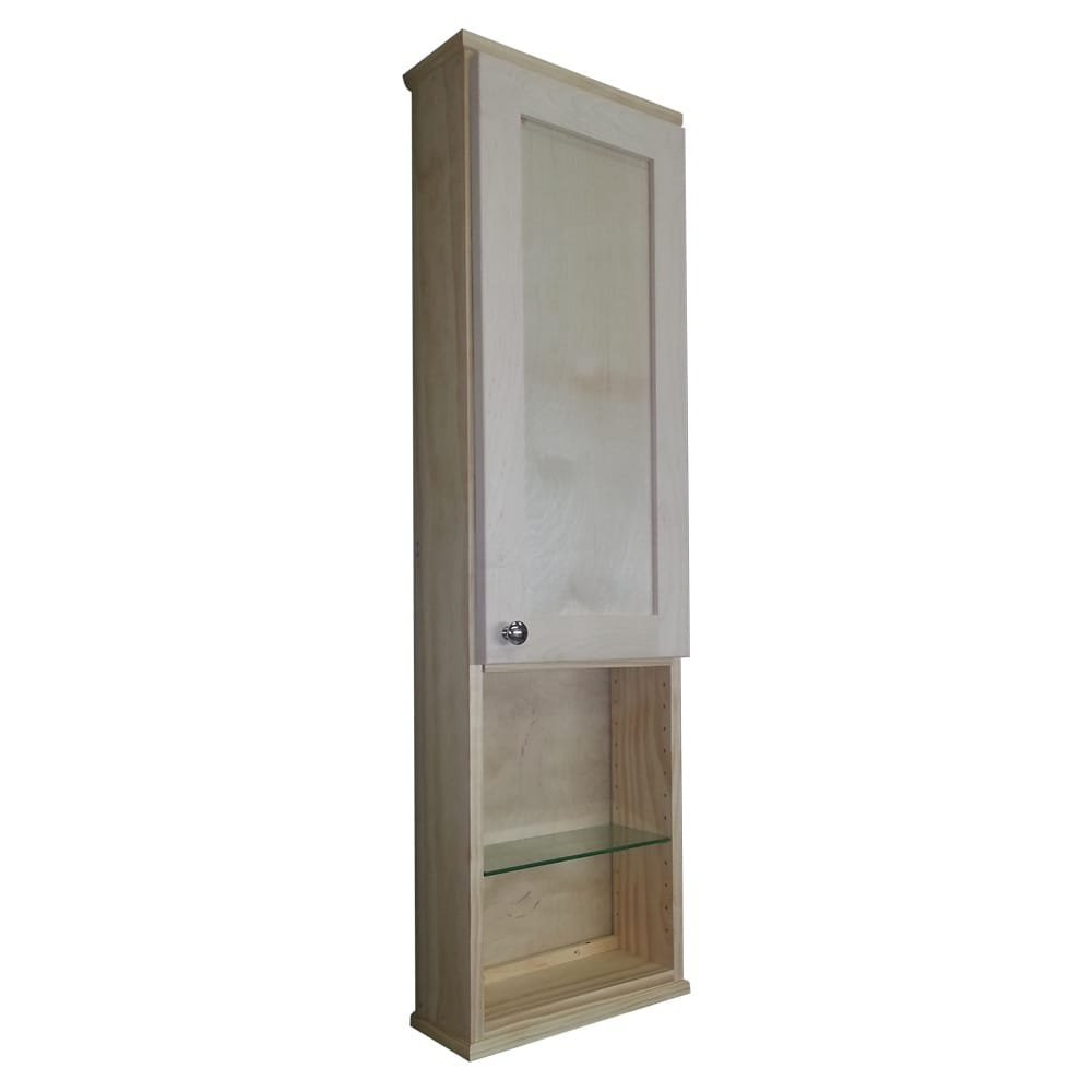 """Shaker Series 15"""" x 43.5"""" Surface Mount Medicine Cabinet by WG Wood Products"""