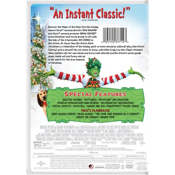 how the grinch stole christmas dvd walmartcom