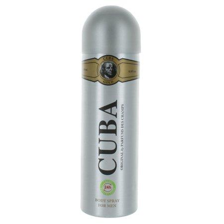 Cuba Paris by Cuba for Men Body Spray 6.8 -