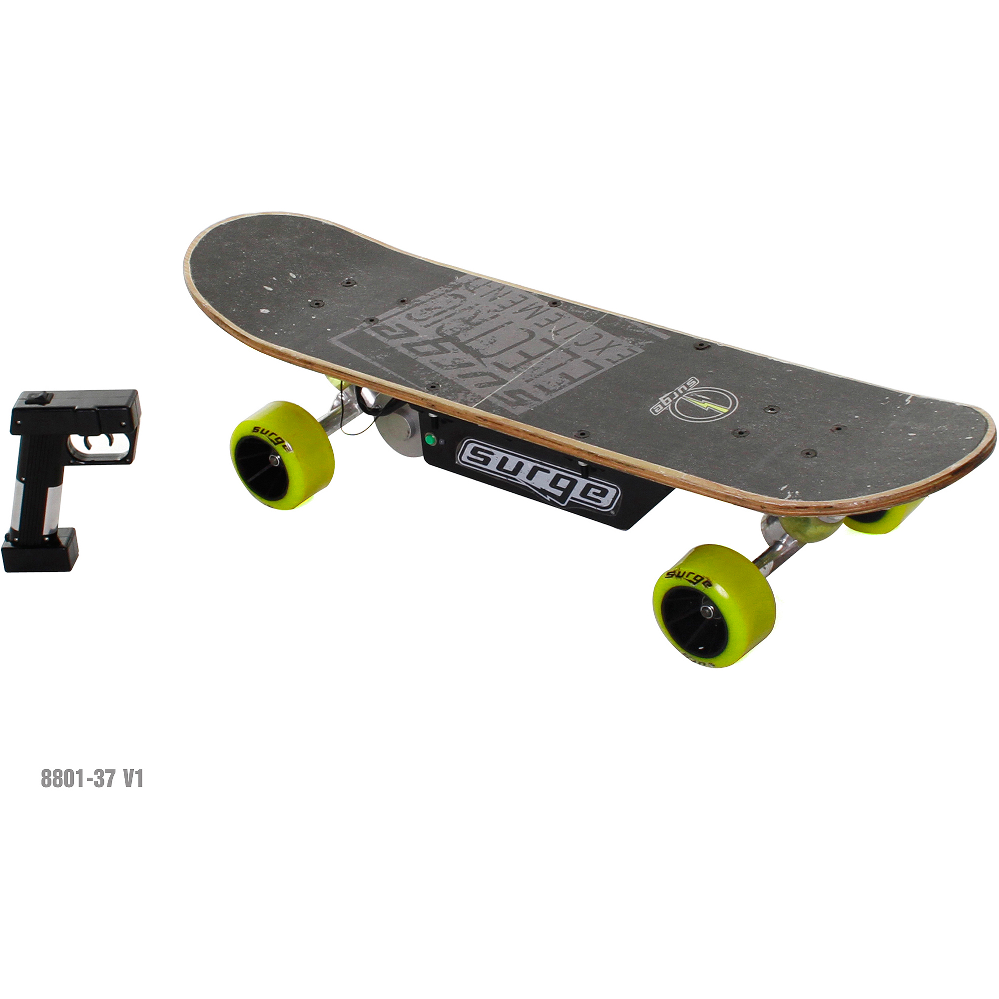 Surge Boys' 24V Electric Skateboard, Black by Dynacraft