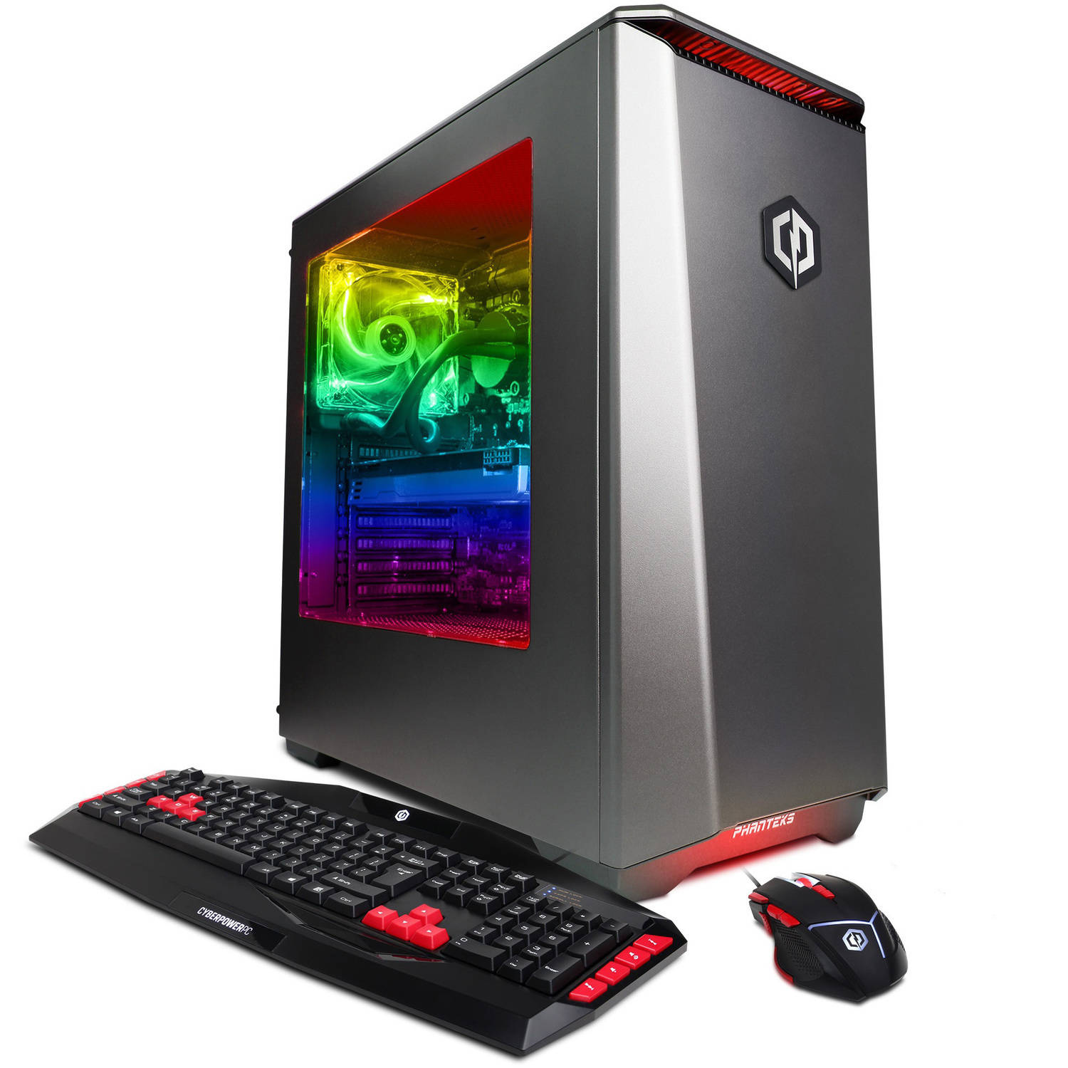 CyberPowerPC Gamer Supreme Liquid Cool SLC8360W Gaming Desktop PC with Intel Core i7-6800K Processor, 16GB Memory, 2TB Hard Drive and Windows 10 Home (Monitor Not Included)