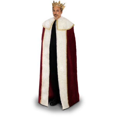 Lava Diva King's Cloak Men's Plus Size Adult Halloween Costume for $<!---->