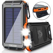 Best Solar Chargers - solar charger 20000mah yoesoid portable solar power bank Review