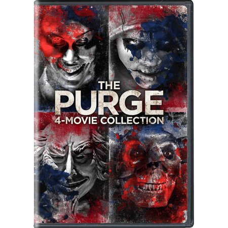 The Purge: 4-Movie Collection (DVD) - The Purge Anarchy Masks